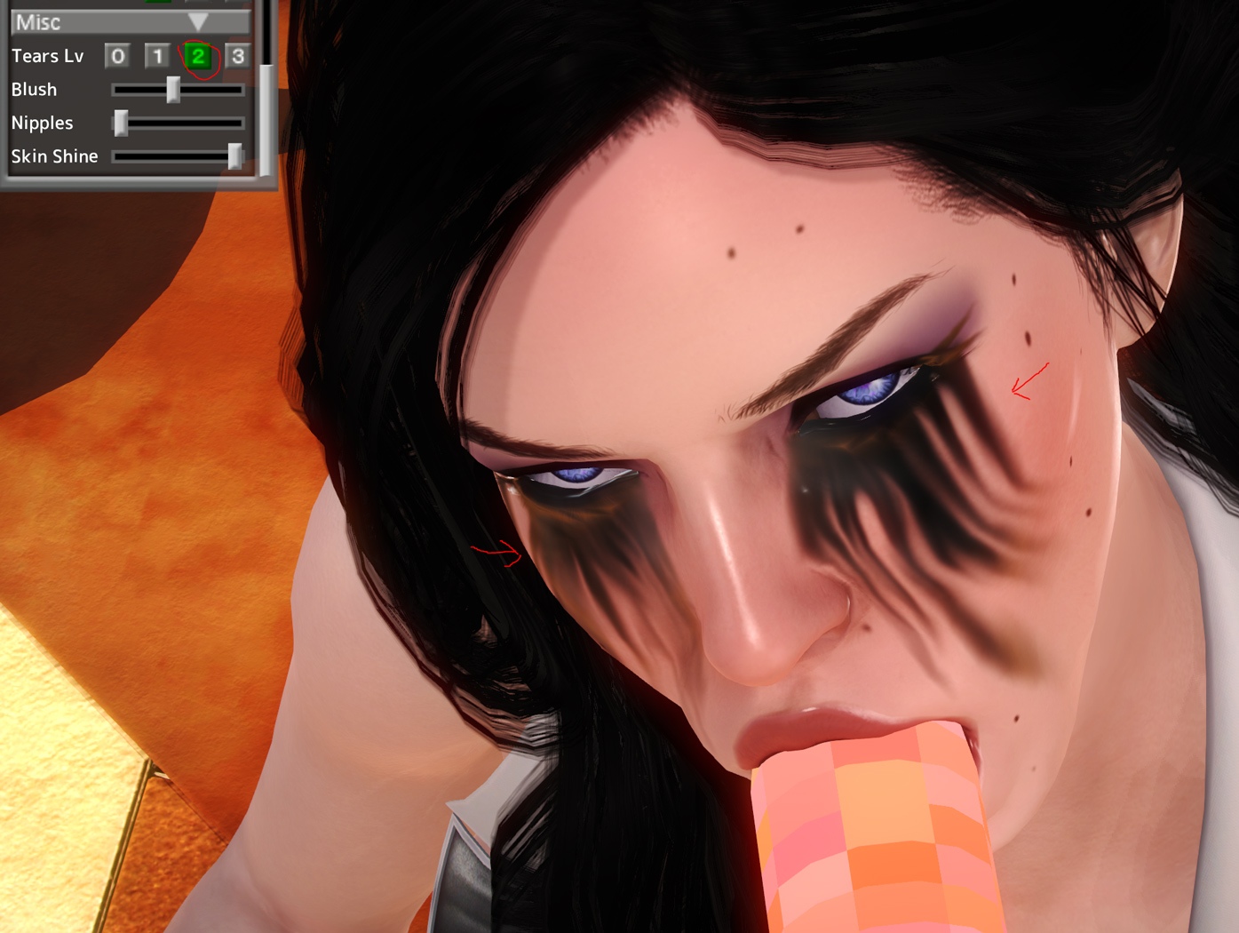 HS][Request] Yennefer TW3 Character Mod (Fixed ID conflict