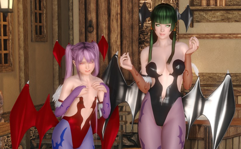 [HS][Request] Morrigan from Darkstalkers Outfit