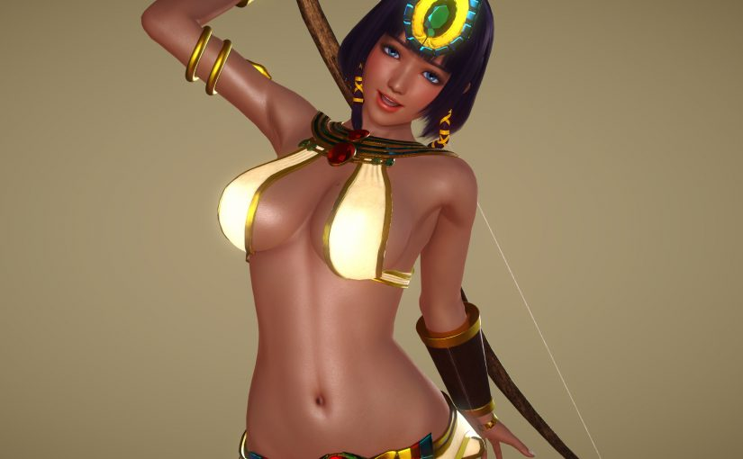 [HS][Request] Neith Outfit from Smite (Updated with body suit)