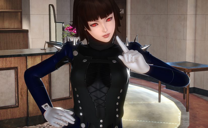 [HS][Request] Makoto's Rider Outfit from Persona 5