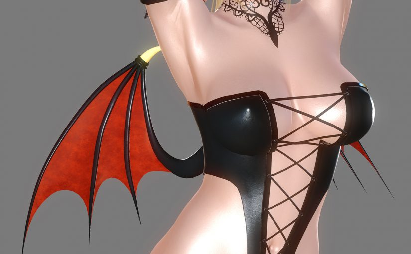 [HS][Request] Helena's Succubus Outfit from DoA