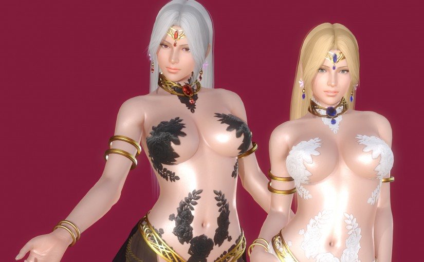 [HS][Request] Helena's Goddess Outfit from DoA