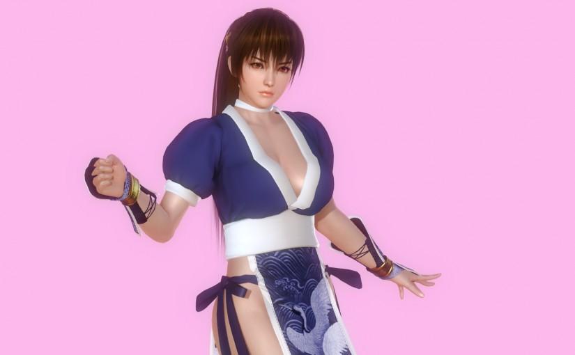 [HS][Request] Kasumi's Blue Kimono