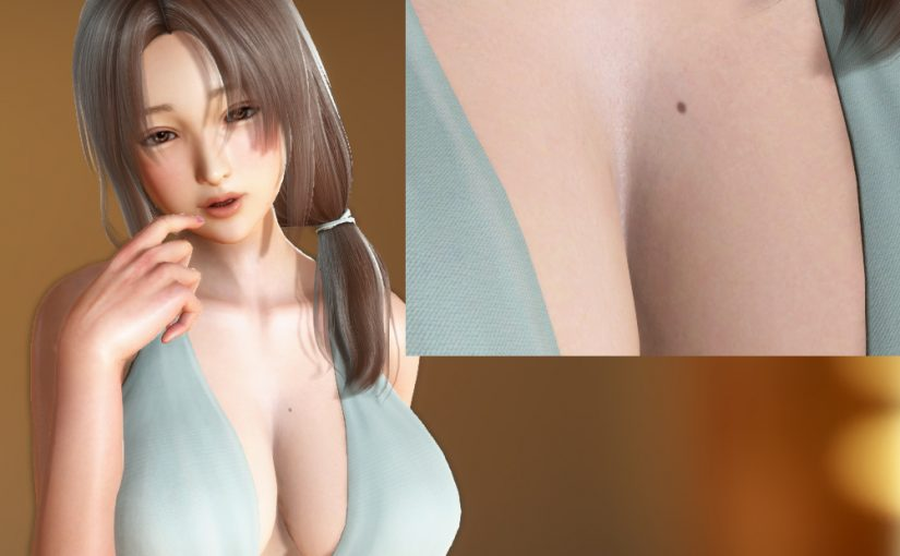 [PH] Breast Mole Textures for PlayHome