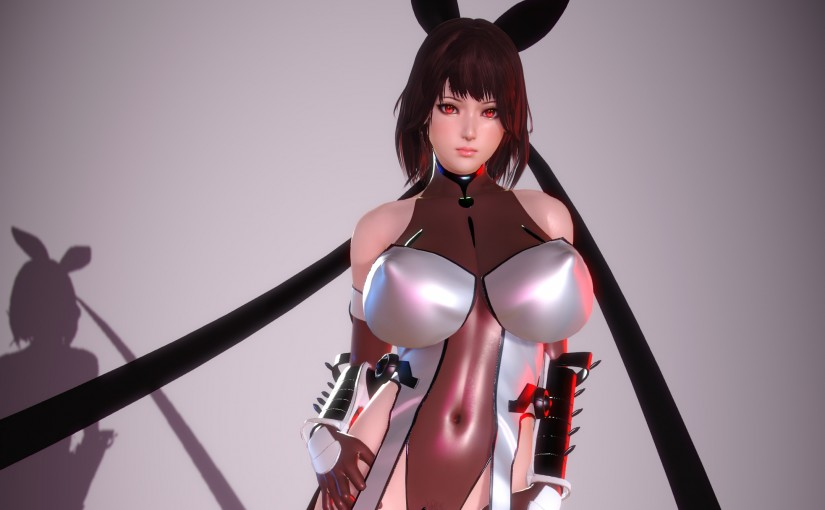 [HS] Mizuki Shiranui's Outfit (Updated, fixed issues with LRE and heels shading)