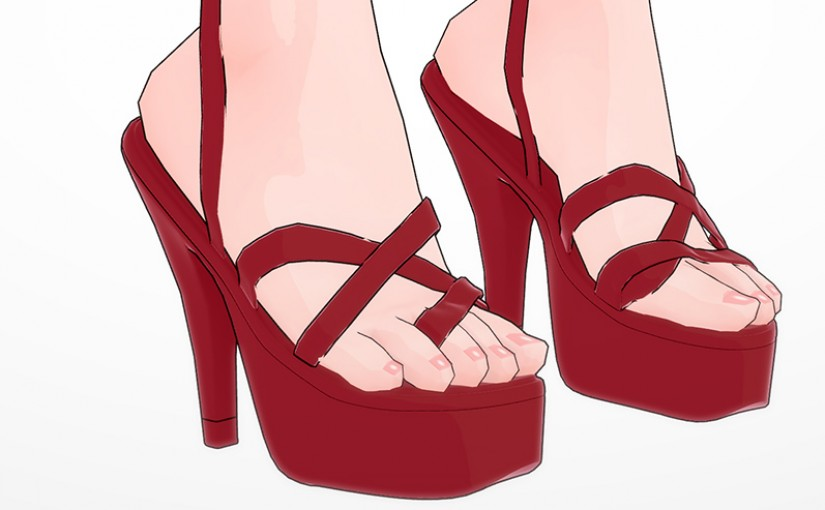 [KK] High Heels Test
