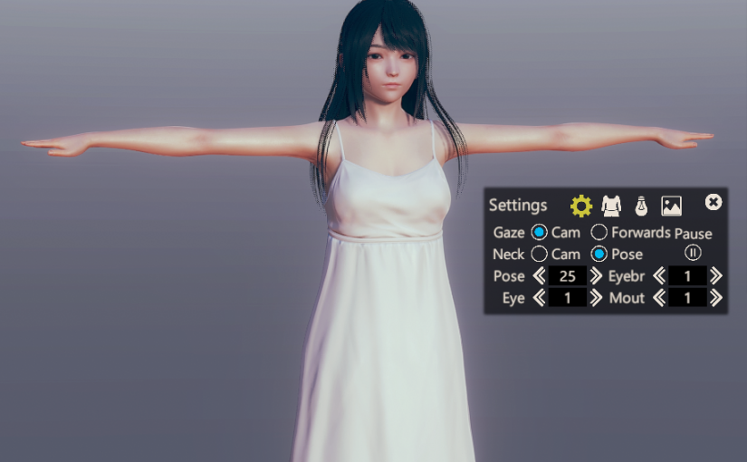 [AI&HS2] T-Pose for Character Creator